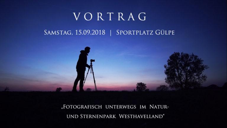 Einladung zum Vortrag auf dem Westhavelländer Astrotreff